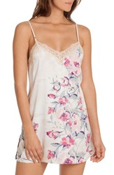In Bloom By Jonquil Satin Chemise Ivorymauve