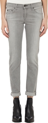 Rag And Bone Dre Boyfriend Skinny Jeans Gray