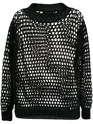 Dsquared2 Loose Crochet Knitted Jumper 60
