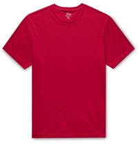J.Crew Essential Cotton Jersey T Shirt Red