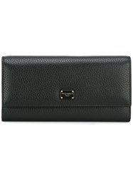 Dolce And Gabbana Minimal Wallet Black