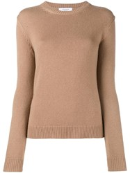 Valentino 'Rockstud' Jumper Brown