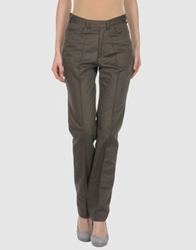 Orlando Casual Pants Dark Brown