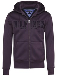 Tommy Hilfiger Reese Full Zip Hoodie Purple