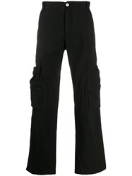 Vivienne Westwood Anglomania Loose Fit Cargo Trousers Black