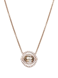Susan Foster Diamond And Rose Gold Necklace