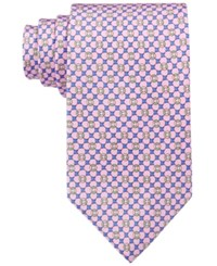 Brooks Brothers Men's Flag And Raft Neat Tie Red