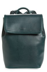 Matt And Nat Mini Fabi Faux Leather Backpack Green Emerald