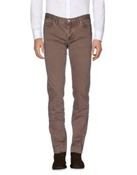 Jaggy Casual Pants Cocoa