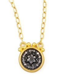 Gurhan Moonstruck 24K Black Diamond Pendant Necklace