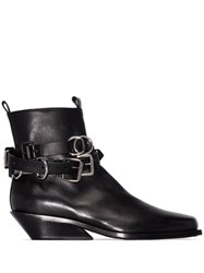 Ann Demeulemeester Tuscon Ankle Boots Black