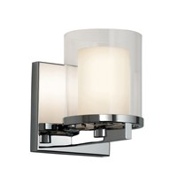 Sonneman Votivo Bathroom Vanity Light Silver