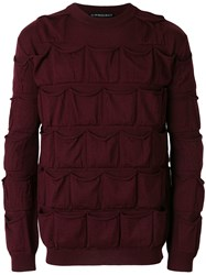 Y Project All Pockets Jumper Red