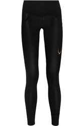 Lucas Hugh Core Performance Stretch Leggings Black