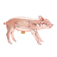 Areaware Reality Collection Bank In The Form Of A Pig Money Bank Rose Gold