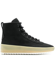 Fear Of God High Ankle Hiking Boots Black