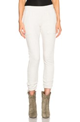Pam And Gela Lace Up Pant In Neutrals Gray