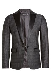 Dsquared2 Blazer With Satin Lapels Black