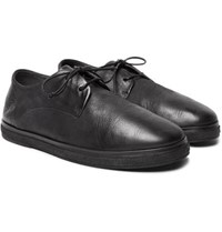 Marsell Leather Derby Shoes Black