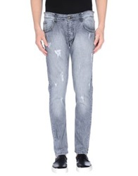Minimal Denim Pants Blue