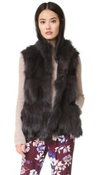 Jocelyn Fox Selections Vest Dark Grey