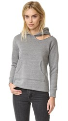 Lna Cueva Hoodie Heather Grey