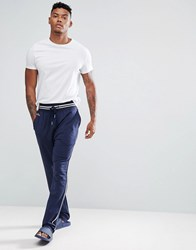 Lacoste Sport Joggers With Cuffed Ankle In Regular Fit Navy