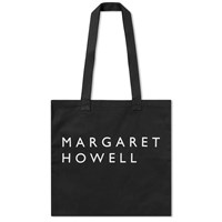 Mhl By Margaret Howell Mhl. Cotton Drill Tote Bag Black