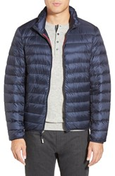 Men's Tumi 'Pax' Packable Quilted Jacket Navy