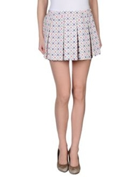 Paul And Joe Sister Mini Skirts Ivory