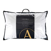 A By Amara European Duck Down Surround Pillow Medium Firm