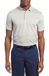 Men's Nike 'Victory Dri Fit Golf Polo Pewter Grey White