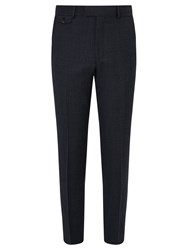 Chester Barrie By Pindot Wool Tailored Suit Trousers Airforce