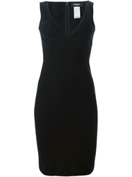 Dsquared2 V Neck Dress Black