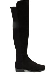 Stuart Weitzman Knee Length Boots Black
