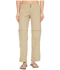 Exofficio Bugsaway Sol Cool Ampario Convertible Pants Tawny Women's Casual Pants Tan