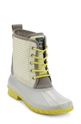 G.H. Bass Women's And Co. Daisy Waterproof Duck Boot Grey