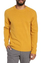 Selected Homme New Coban Regular Fit Wool Sweater Curry
