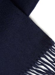 Selected Blue Homme Navy Wool Scarf