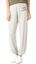 Wildfox Couture Desperate Morning Sweatpants Grey