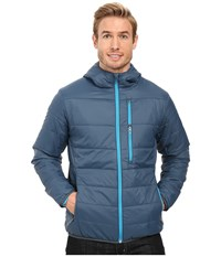 Spyder Mandate Hoodie Sweater Weight Insulator Jacket Union Blue Electric Blue Men's Coat