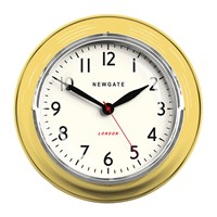 Newgate The Cookhouse Wall Clock Squeezy Lemon