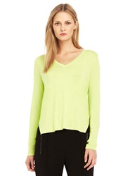 Kenneth Cole Jo Layered Knit Top Winter Glow