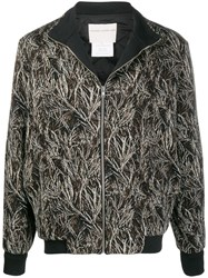 Stephan Schneider Abstract Print Bomber Jacket 60