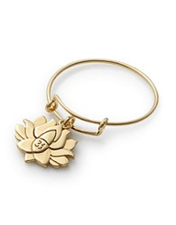 Alex And Ani Lotus Peace Petals Expandable Wire Ring Gold