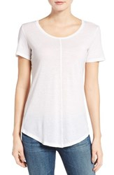 Ag Jeans Women's The Jade Cotton And Cashmere Tee