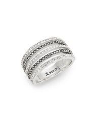 Judith Jack Marcasite Crystal And Sterling Silver Ring