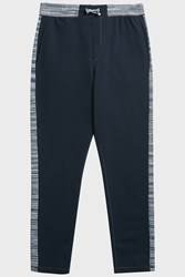 Missoni Space Dye Trim Jogging Trousers Navy