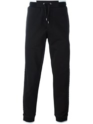 Mcq By Alexander Mcqueen Piped Track Pants Black