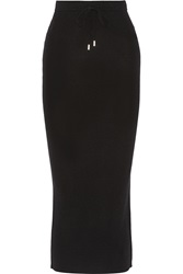 Alexander Wang Ribbed Merino Wool Maxi Skirt